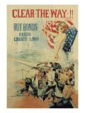 Clear the Way! Buy Bonds  Fourth Liberty Loan Howard Chandler Christy