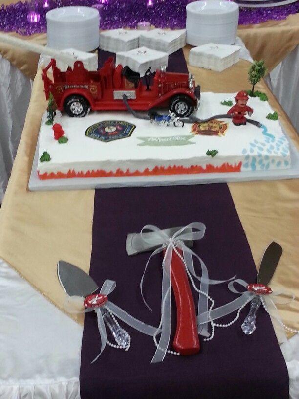 55 best Firefighter Wedding Theme images on Pinterest