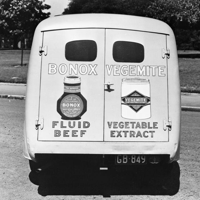 Bonox and Vegemite delivery van, 1947.