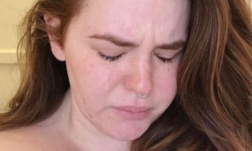 Viral Crying Selfie Shows Moms Are Just 'Trying To Keep Their S**t Together'   The Huffington Post
