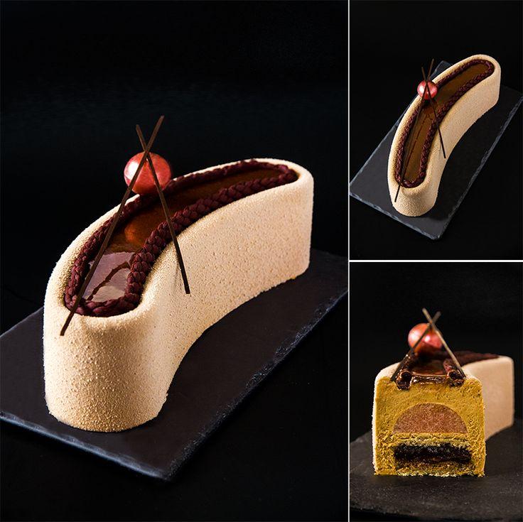 Feuilletine Praline Chocolate Cake