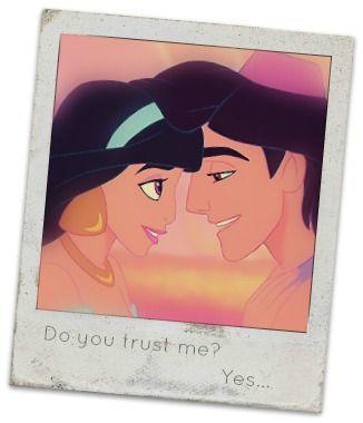 Aladdin and Jasmine... <3