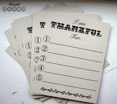 Thankful Game & Printable
