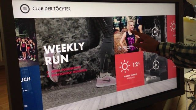 Vimeo Nike Store - Touch Applikation