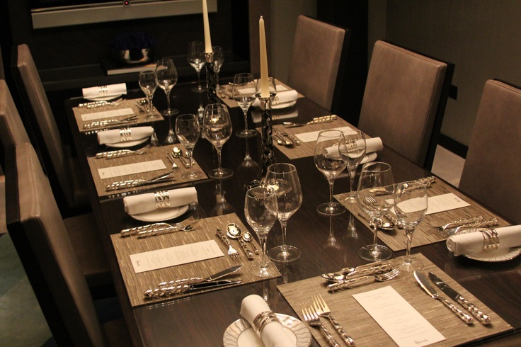Supper at The Studio Harrods - Silver by Aston Martin