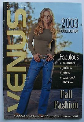 FALL FASHION COLLECTION 2003 VENUS Swimwear Catalog | eBay