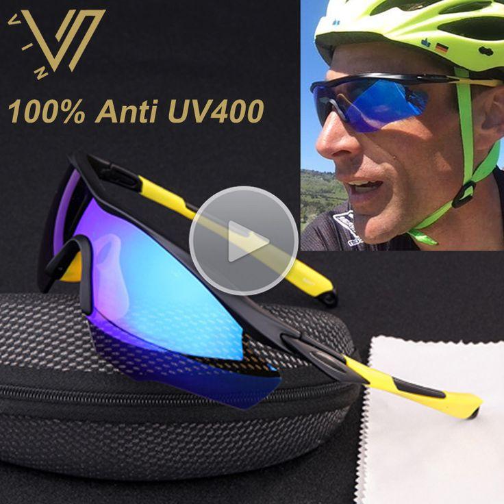 PROSOOL Sports Men' s Sunglasses for Biking Fishing Running Driving Golf Sunglass Men Lentes Gafas Oculos De Sol UV400 2016 New