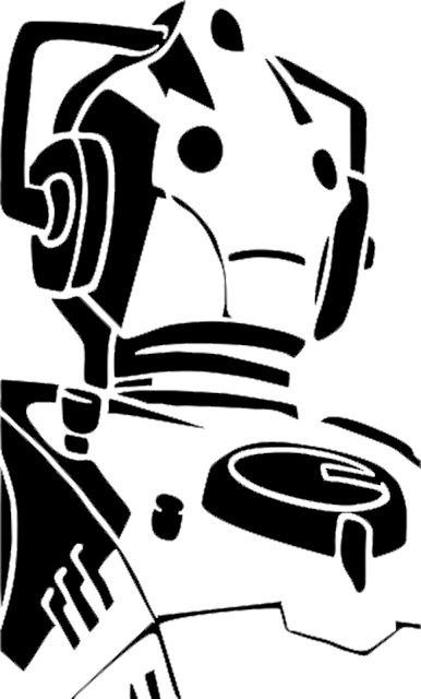 Doodle Craft...: Doctor Who Stencil Silhouette Outline Clipart Mania! | Crafts & Sewing (Geek ...