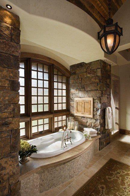 I like the bath built into the window