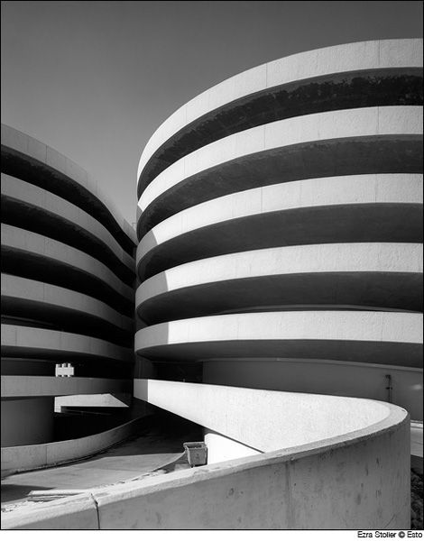 Macy's Parking Garage | Queens, New York | Skidmore Owings & Merrill | photo © Ezra Stoller/Esto