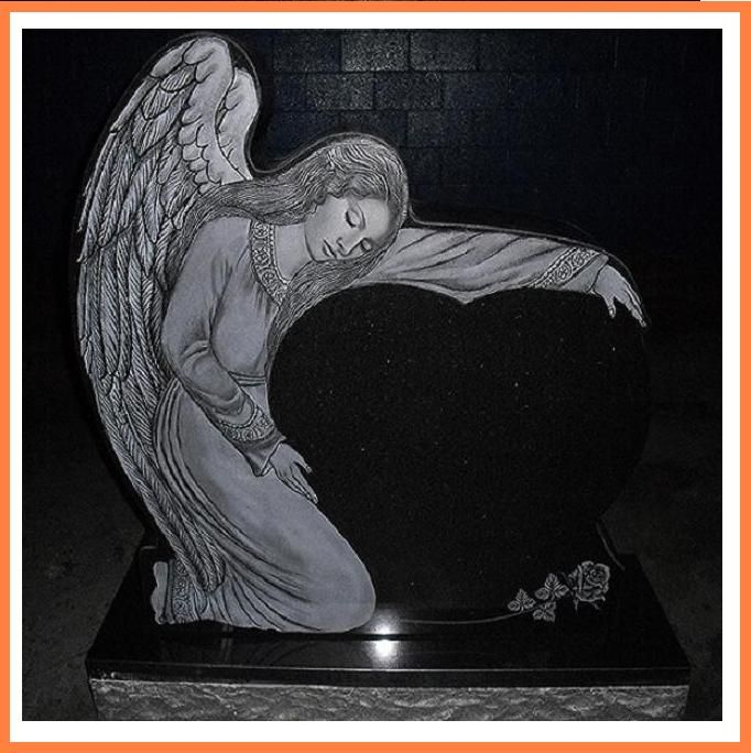 monuments headstones | Angel Heart Headstone Designer Cemetery Monuments | eBay