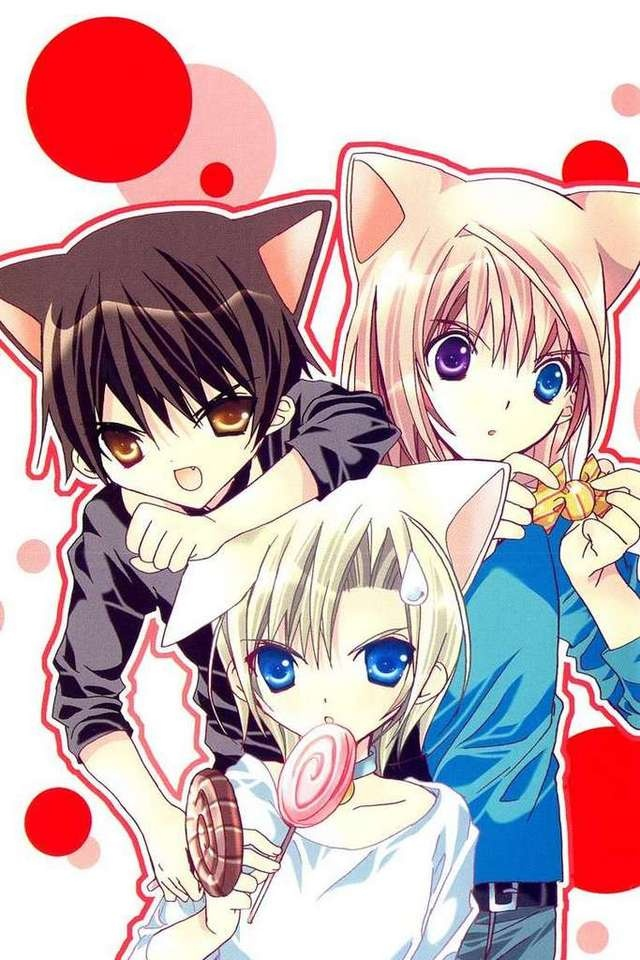 I love these three! But Kazune is my favourite forever and ever! <3