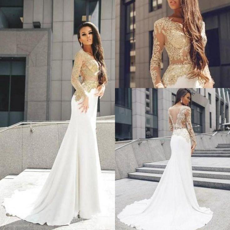 Novo Sereia Longa Noite De Festa Vestidos 2016 Sexy Vestidos formal baile d formatura, vestido