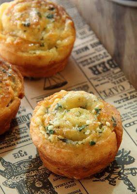 Chef Royale: Petits pains italiens à l'ail persil et parmesan