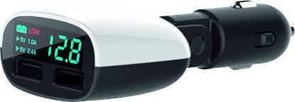 Con el nuevo cargador digital de Hama desearás llegar a tu coche para cargar tus dispositivos