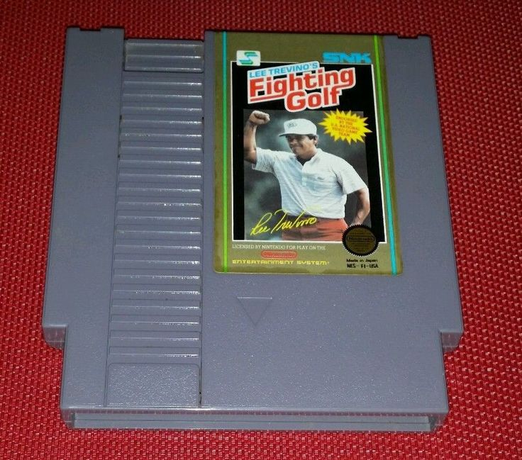 SNK LEE TREVINO'S FIGHTING GOLF Nintendo Entertainment System NES Cartridge Only