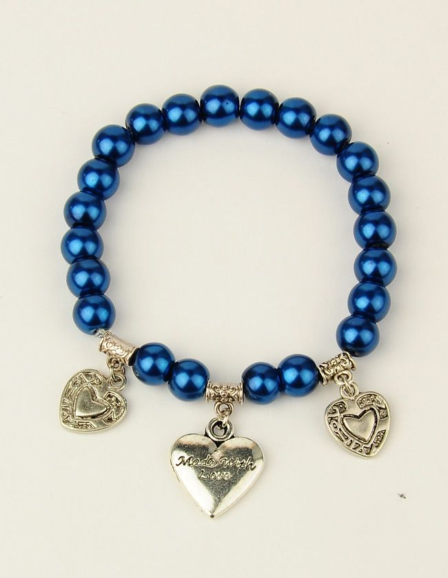 PandaHall Jewelry—Glass Pearl Stretchy Bracelets for Valentine's Day | PandaHall Beads Jewelry Blog