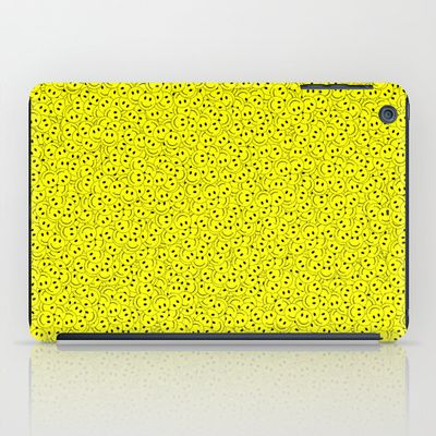 Smiley iPad Case by Vanya Vasileva - $60.00 http://society6.com/vanyavasileva/