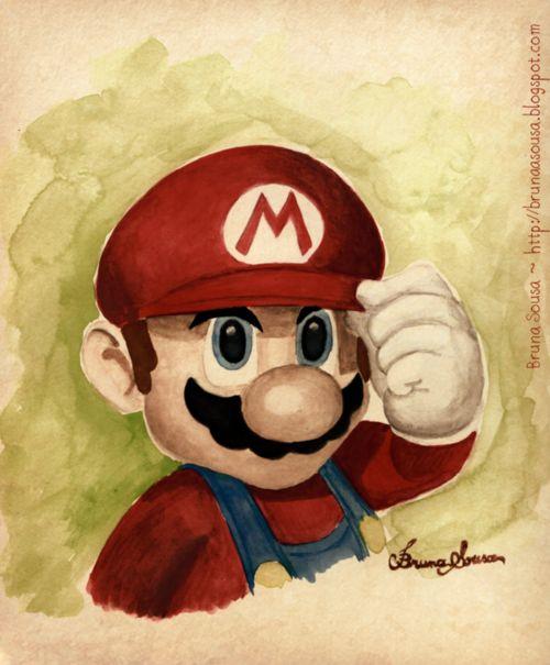 Super Mario - Created by Bruna Sousa