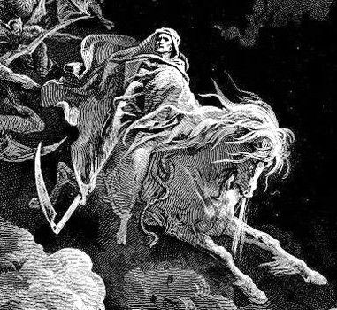 Pale Horse Bible | behold a pale horse: and his name that sat on him was Death, and ...