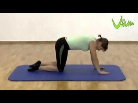 Rygøvelser | Rygtræning | Styrketræning | Hjemme | Ondt i lænden | Lændesmerter | Øvelser med bold, elastik og for lænden samt core