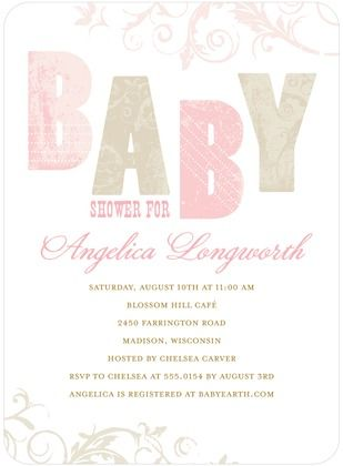 54 best images about baby shower invites on pinterest | love to, Baby shower invitations