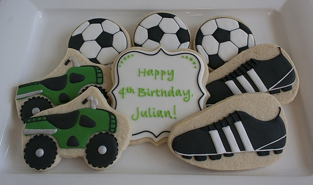 Soccer and ATV cookies