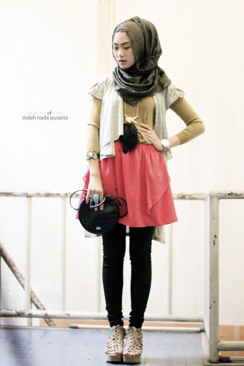 cute! #hijab #hijabi #style #fashion