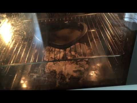 HOW TO CLEAN YOUR OVEN WITH BAKING SODA & VINEGAR || BETHANY FONTAINE - YouTube