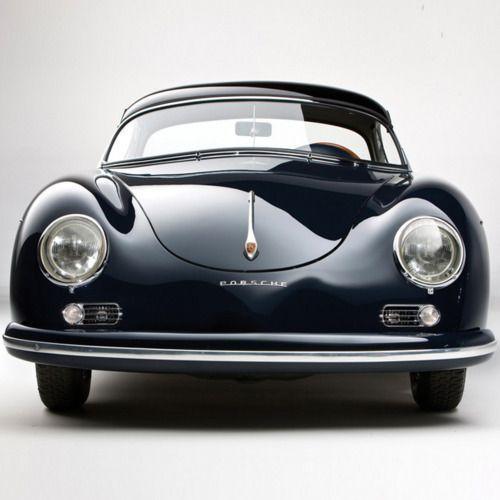 Vintage Porsche 356 sports car. via Ruel Spot