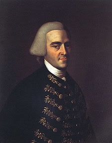 """John Hancock (January 23, 1737 – October 8, 1793) was a merchant, statesman, and prominent Patriot of the American Revolution. He served as president of the Second Continental Congress and was the first governor of the Commonwealth of Massachusetts. He is remembered for his large and stylish signature on the United States Declaration of Independence, so much so that """"John Hancock"""" became, in the United States, a synonym for signature."""