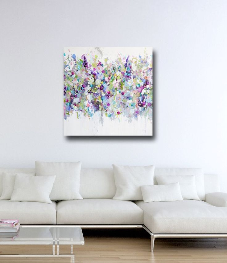 Large Abstract Canvas Wall Art Large Single Abstract Flower Cheap