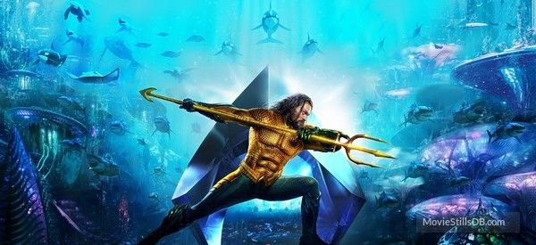 Aquaman Promotional Art With Jason Momoa Aquaman Filme