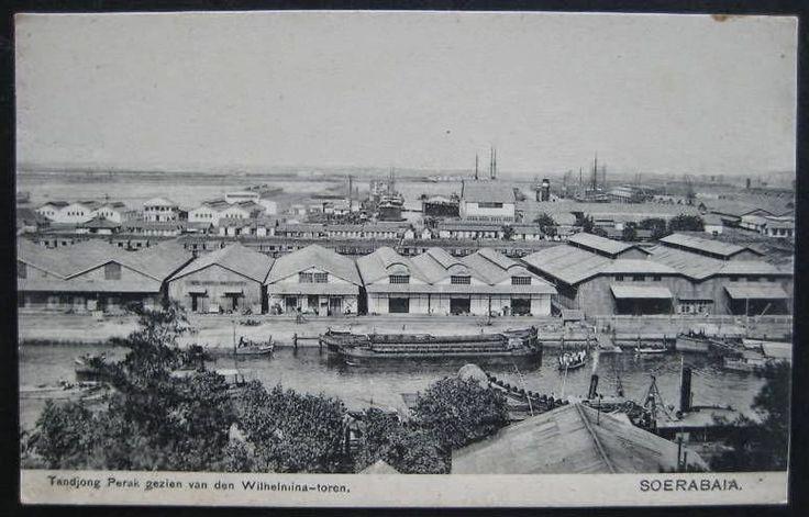 old-indische: Tanjung Perak ~ Surabaya 年不明