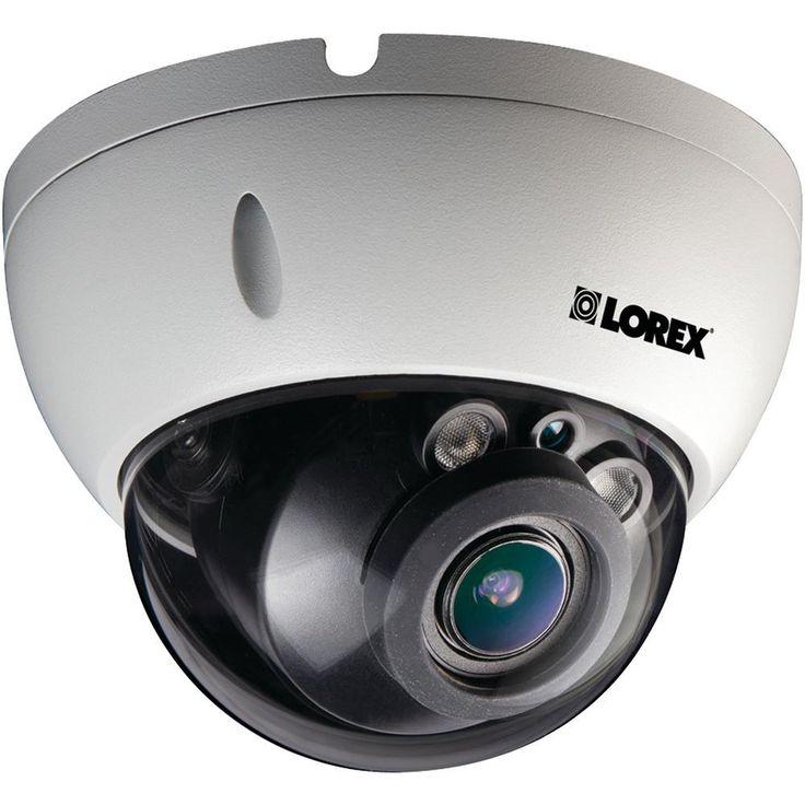 Lorex By Flir 3.0-megapixel Varifocal Hd Ip Poe Dome Camera