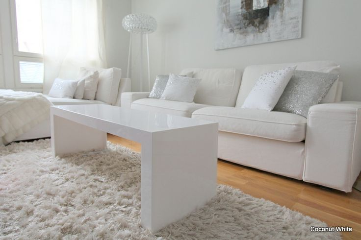 Coconut White: Kartell Invisible Side White