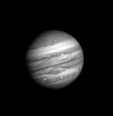Motions on Jupiter - Images from Voyager, taken from January 6 - February 3, 1979