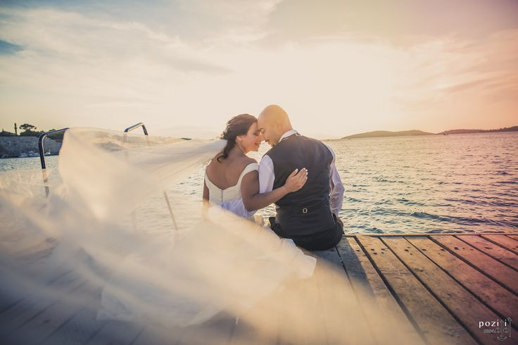 #wedding #happy #sunset #couple #photography