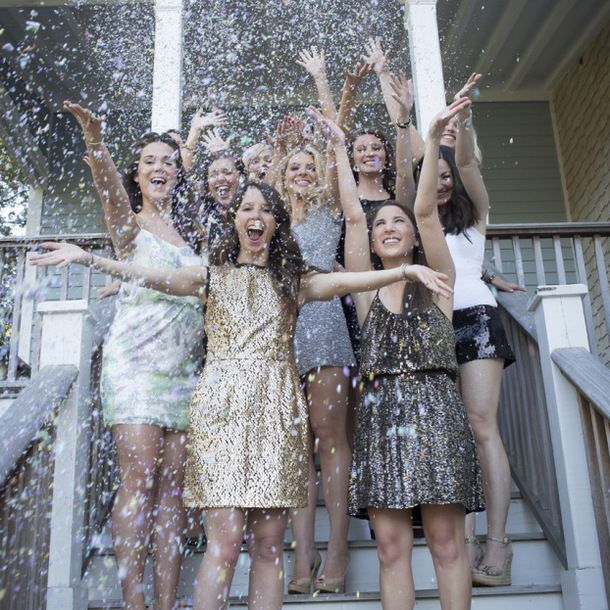 Glitter and Glam Bridal Shower Ideas