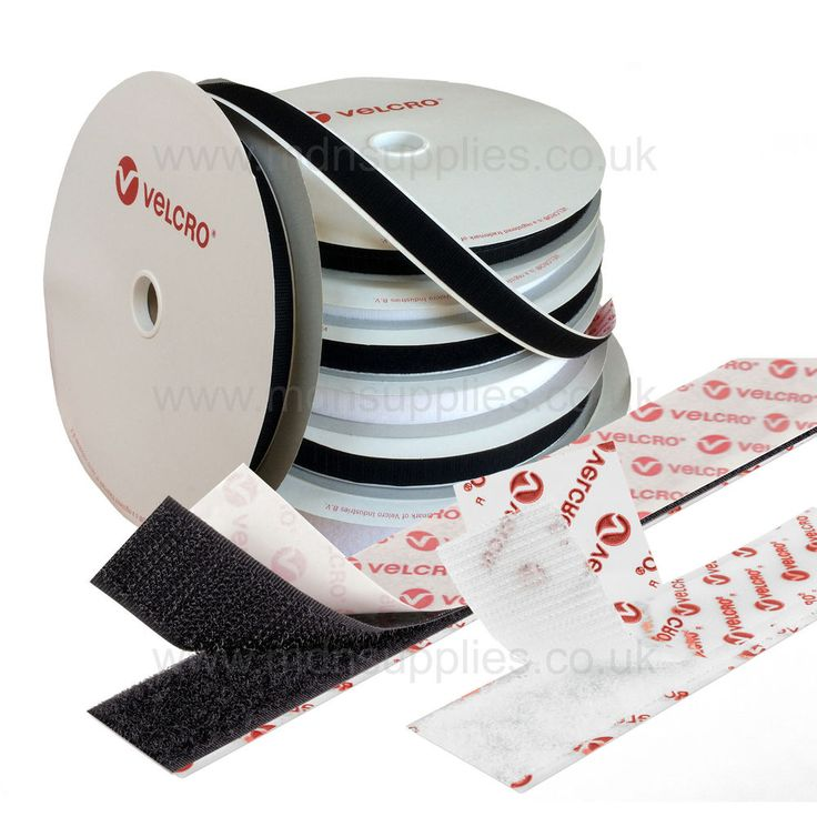 Genuine VELCRO® Brand Self Adhesive Sticky Back Hook & Loop Fastener Tape PS14 | eBay