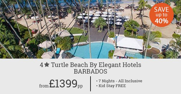 Welcome to Caribbean! Enjoy the best of the island with our all inclusive 7 night holiday offer. Save up to 40% plus your kid stay FREE.