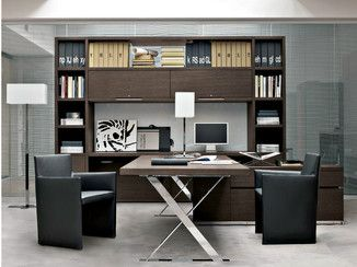 Tall office shelving AC EXECUTIVE | Office shelving - B&B Italia Project, a brand of B&B Italia Spa
