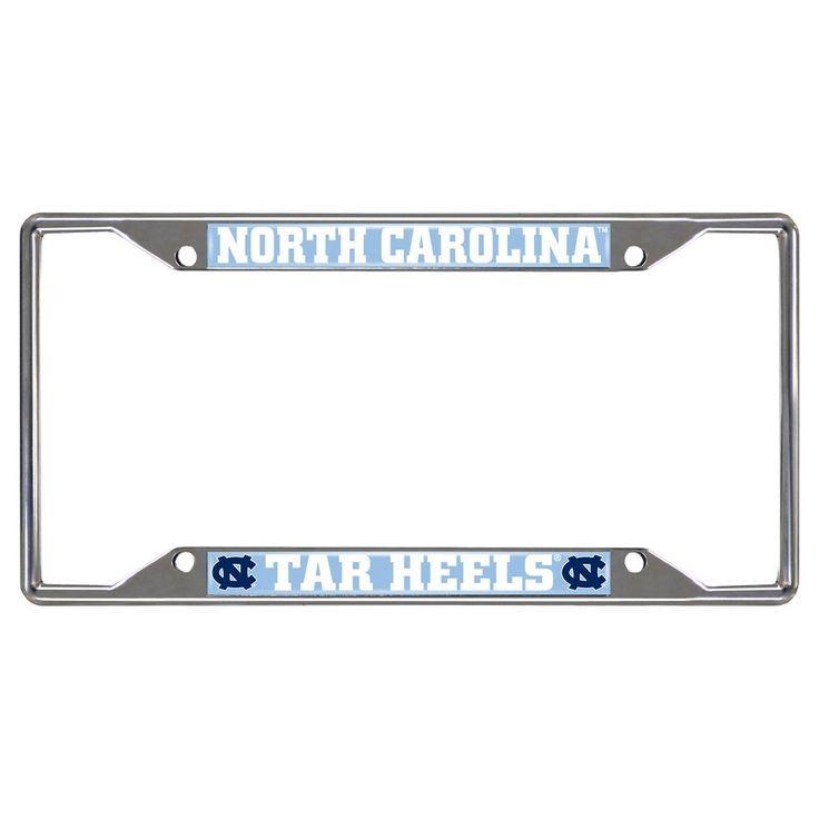 University of North Carolina License Plate Frame, Multi-Colored