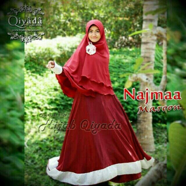 Saya menjual Najma gamis syari exclusive pesta seharga Rp755.000. Dapatkan produk ini hanya di Shopee! http://shopee.co.id/hoshita/1834844 #ShopeeID