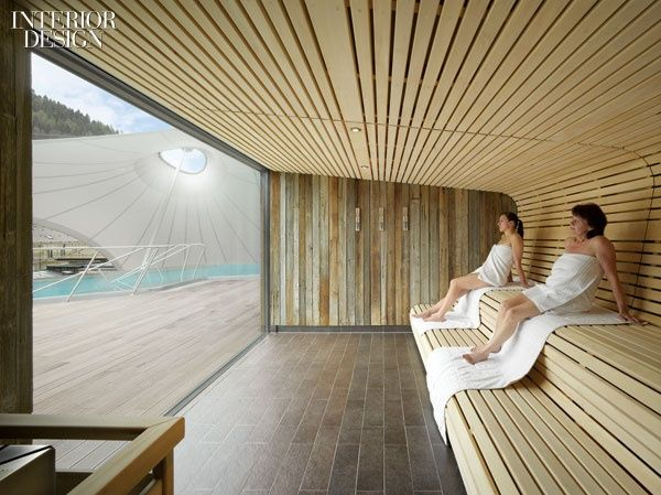 A Spot in the Shade: Germany's Palais Thermal Spa and Sauna