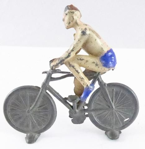 Charbens acrobat on bicycle, pre-war
