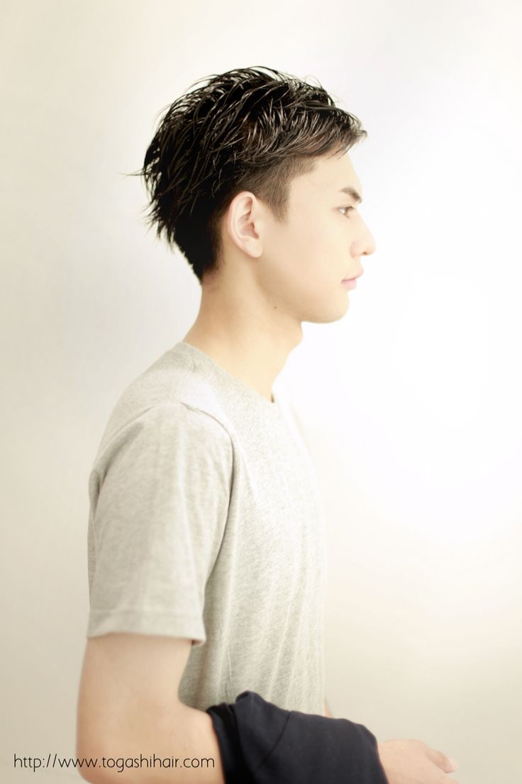 【togashihair】アップバングショート…