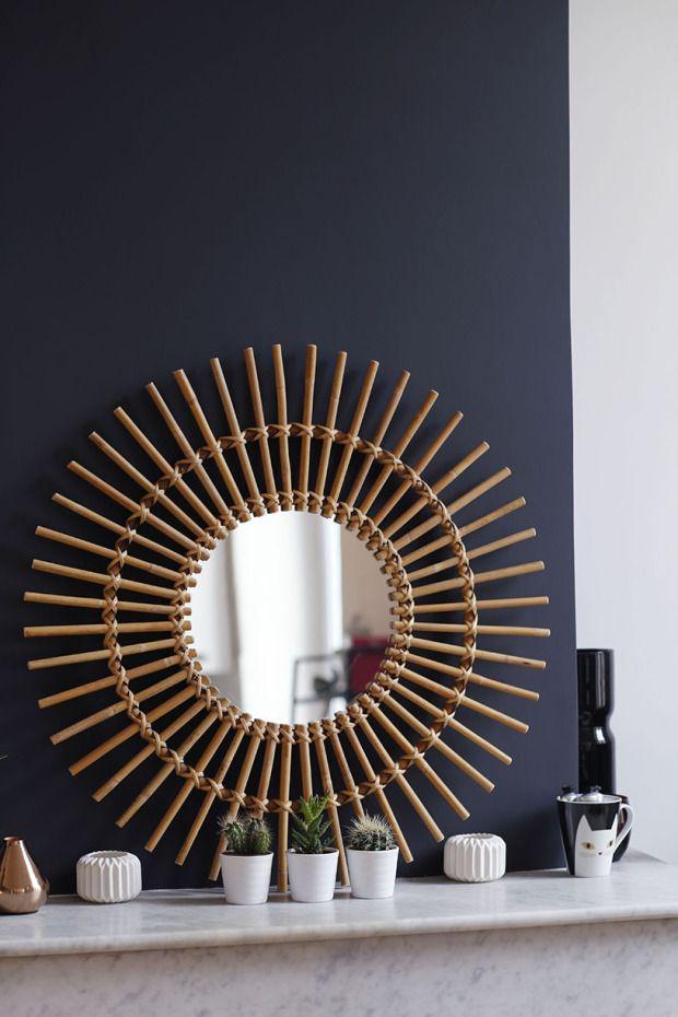 Miroir Soleil  Chez Marinette @c_estmarinette Inspiration déco  lespetitespoules.com ©Caroline Feraud