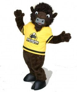 Buffalo Wild Wings custom corporate mascot