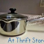 How to Shop at Goodwill Thrift Stores:  Household Items